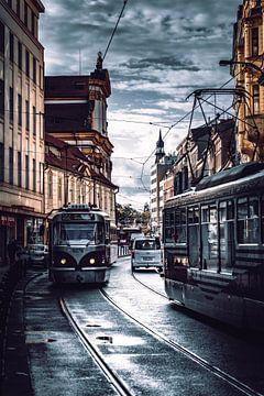 Praagse metro van Iman Azizi