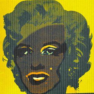 Marilyn Monroe Yellow Game Dadaismus - Andy Warhol