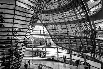Reichstag Berlin 3 van Martijn .