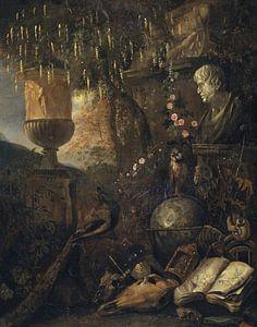 Philosophisches Vanitas-Stillleben, Matthias Withoos