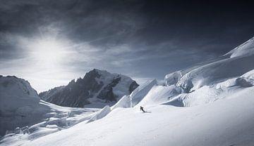 Gletscherskifahren Vallée Blanche von