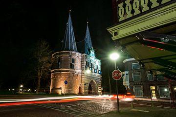 Foto van Kampen met stadspoort van Fotografiecor .nl