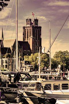 Liebfrauenkirche in Dordrecht Die Niederlande Alt von Hendrik-Jan Kornelis