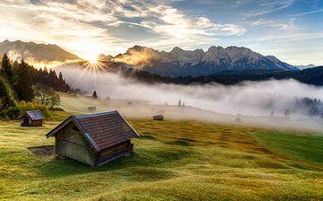 Herbstmorgen in Oberbayern von Achim Thomae