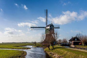 Typisch Nederlands polderlandschap von Stephan Neven