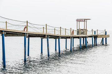 Albanië, Durrës :: Baywatch van Steve Van Hoyweghen