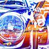 Bunte Porsche Targa Kunstwerke von 2BHAPPY4EVER.com photography & digital art Miniaturansicht