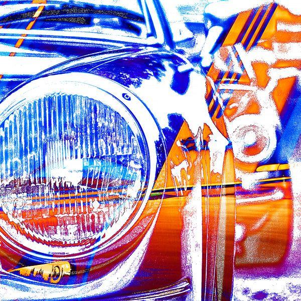 Bunte Porsche Targa Kunstwerke von 2BHAPPY4EVER.com photography & digital art