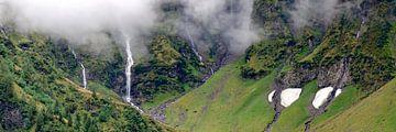 Wasserfälle im Felbertal von Leopold Brix