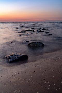 Felsen in den Wellen von Martijn Joosse