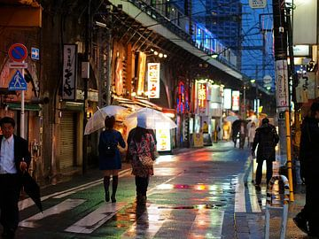 Tokyo Street II von Alexander van der Linden