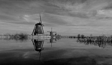 Kinderdijk von Stephan van Krimpen