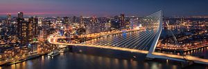 Rotterdam Skyline - Erasmusbrug van