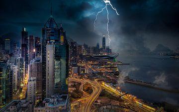 Hongkong-Blitz von Mario Calma