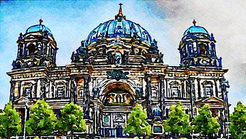 Berliner Dom von Saskia Ben Jemaa