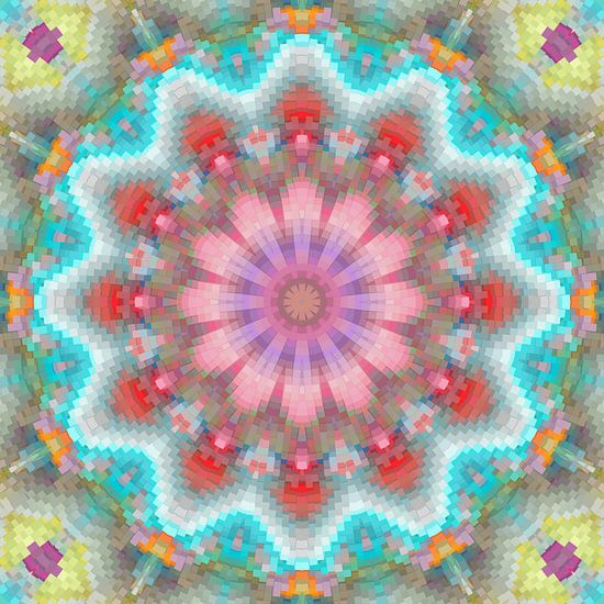 Mandala lentekleuren