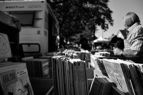 Marktganger.  van Arne Claessens