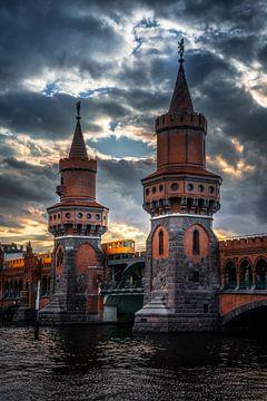 Berlin Oberbaumbrücke 2020 von Iman Azizi