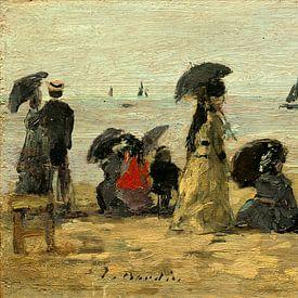 het Strand, Eugène Boudin van Liszt Collection