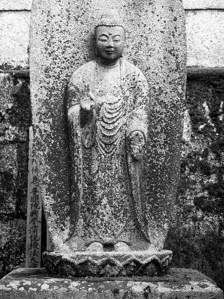Japanischer Buddha von Menno Boermans