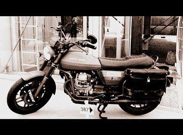 Moto Guzzi von Nicky`s Prints