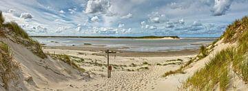 De Slufter wandelpad panorama van Ronald Timmer