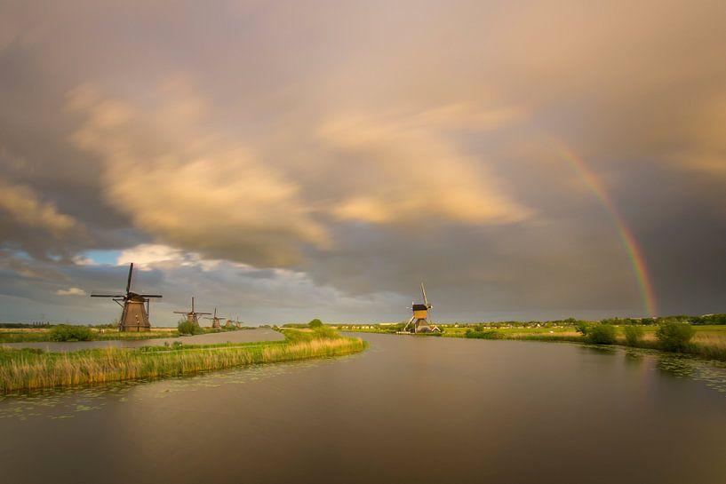 regenachtig weer van Jan Koppelaar