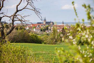 Michelsberg in Bamberg mit Kloster St. Michael von Jan Schuler