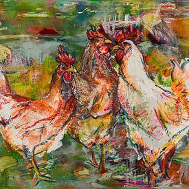 Kippen van Liesbeth Serlie