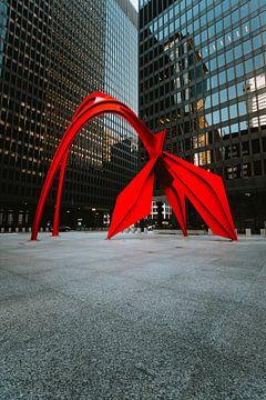 Sculpture de flamant sur Maikel Claassen Fotografie