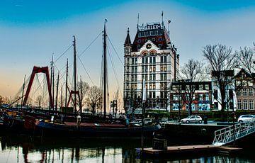 Der Oudehaven Rotterdam Nachmittag von Marjolein van Middelkoop