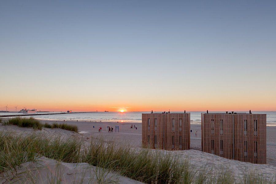 Vakantiehuisjes aan zee van Marc Vermeulen