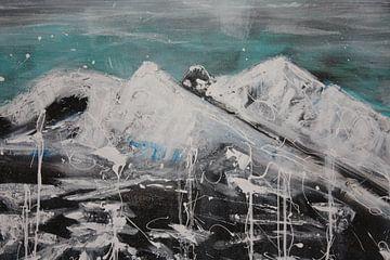 Berge von Kathleen Artist Fine Art