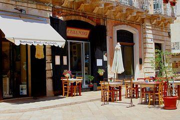 Italiaans restaurant  terrasje van Inge Hogenbijl