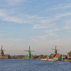 Windmolens Holland van Orhan Sahin