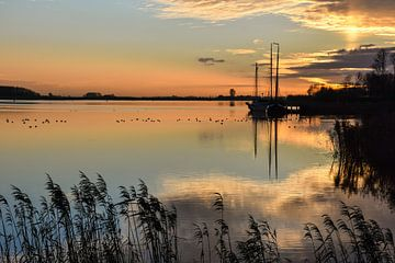 Ochtend reflectie / Morning reflection van Henk de Boer