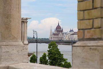 Parlamentsgebäude in Budapest von Kristof Ven