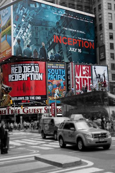 Time square in New York City. Wout Kok One2expose van Wout Kok