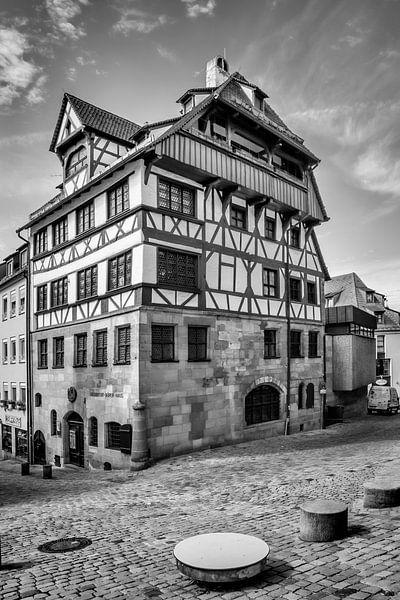NÜRNBERG Albrecht-Dürer-Haus | Monochrom von Melanie Viola