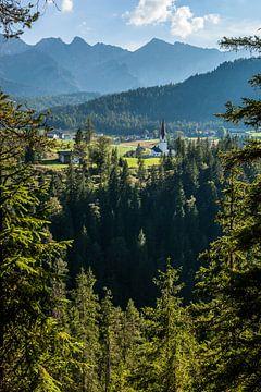 Tirol, Alpen, Österreich von Frank Peters