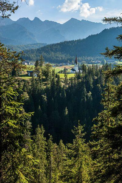 Tyrol, Alpes, Autriche sur Frank Peters