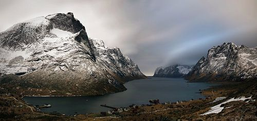 Kirkefjorden village van