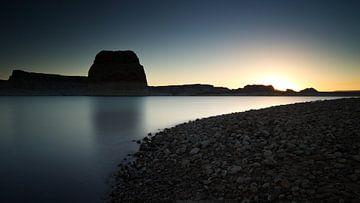 Lone Rock, Lake Powell, UT USA van Gerhard Niezen Photography