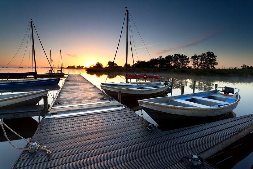 Harbor tranquility van Olha Rohulya