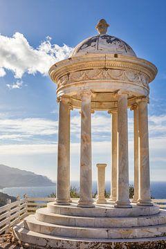 Tempel im Garten Son Marroig, Mallorca von Christian Müringer