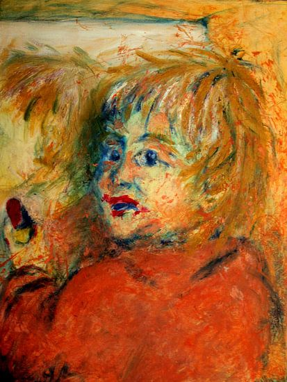 Mama's lipstick van Anita Snik-Broeken