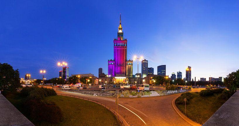 Palais de la culture de Varsovie sur Frank Herrmann