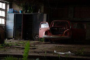 Verlaten VW Kever sur