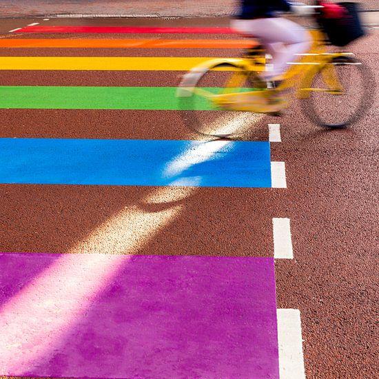 Het Regenboogzebrapad - Utrecht