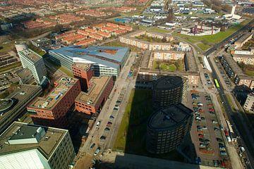 Die Stadt Almere vom WTC aus von Brian Morgan